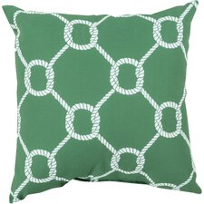 Orchid Tied Up Delight Outdoor Throw Pillow