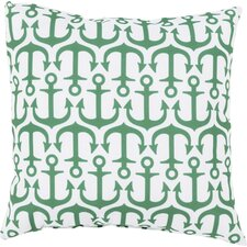 Orchid Alluring Anchor Outdoor Throw Pillow