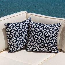 Edisto Outdoor Throw Pillow (Set of 2)