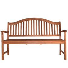 Chatterly Outdoor Wood Garden Bench