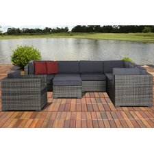 Caroline Marseille 8 Piece Deep Seating Group with Cushions