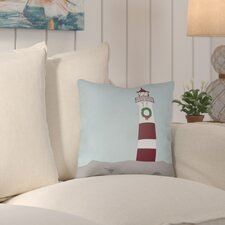 Carsdale Holiday Cove Indoor/outdoor Throw Pillow
