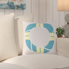 Orchid Lovely Life Raft Outdoor Throw Pillow