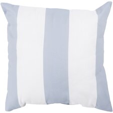 Orchid Awning Stripe Outdoor Throw Pillow