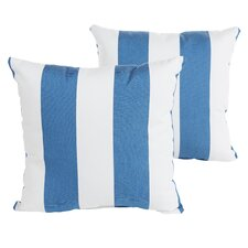 Travis Indoor/Outdoor Sunbrella Throw Pillow (Set of 2)