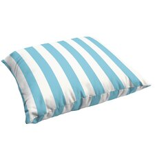 Federalsburg Stripe Indoor/Outdoor Floor Pillow