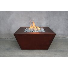 Amer Copper Natural Gas Fire Pit Table