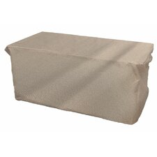 English Garden Slim Outdoor Ottoman/Coffee Table Cover