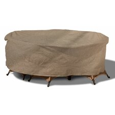 English Garden Round Patio Table and Chairs Combo Cover