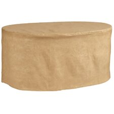 All-Seasons Oval Patio Table Cover