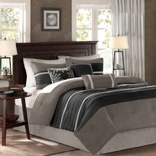 Palmer 7 Piece Reversible Comforter Set