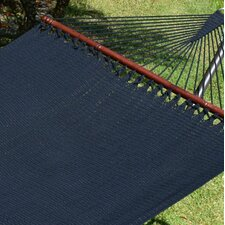 Jumbo Caribbean Polyester Hammock with Stand