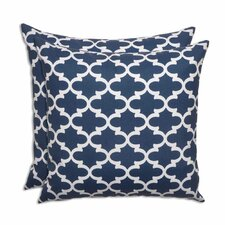 Fulton Oxford Outdoor Throw Pillow (Set of 2)