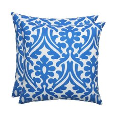 Holly Outdoor S-Backed Throw Pillow (Set of 2)