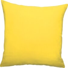 Dyed Solid Outdoor Throw Pillow