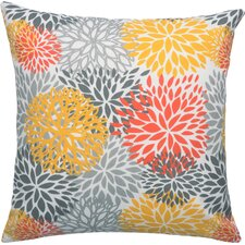 Blooms Citrus Outdoor Throw Pillow