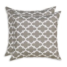 Fulton Indoor/Outdoor Fiber Throw Pillow (Set of 2)