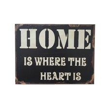 """Home…"" Wood Wall Décor"