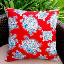 Kids Sea Turtle Indoor/Outdoor Throw Pillow (Set of 2)