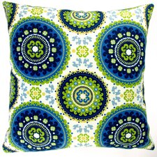 Geometric Circle Modern Indoor/Outdoor Pillow Cover (Set of 2)