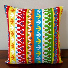 Cotrell Stripe Geometric Modern Indoor/Outdoor Pillow Cover (Set of 2)