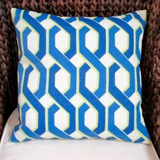 Geometric Modern Indoor/Outdoor Throw Pillow (Set of 2)