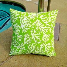 Reef Coastal Living Beach House Indoor/Outdoor Throw Pillow (Set of 2)