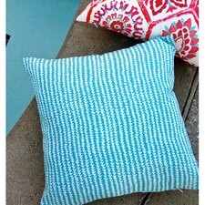 Arrow Stripe Modern Caribbean Beach Indoor/Outdoor Pillow Cover (Set of 2)