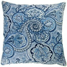 Paisley Geometric Coastal Beach House Modern Contemporary Indoor/Outdoor Throw Pillow (Set of 2)