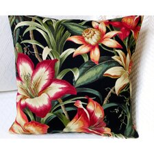 Hawaiian Tropical Hibiscus Flower Indoor/Outdoor Throw Pillow (Set of 2)