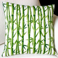 Bamboo Rayon Oriental Outdoor Pillow Cover (Set of 2)