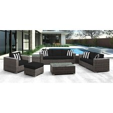 Lusso 7 Piece Deep Seating Group with Cushion