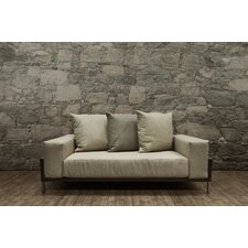 Wonderful Nubis Deep Seating Loveseat with Cushion