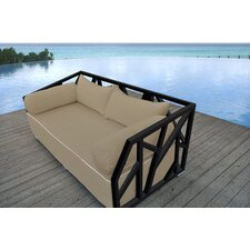 Cool Nidum Deep Seating Daybed with Cushions