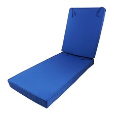 Outdoor Sunbrella Deep Seating Chaise Lounge Cushion