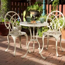 Bardon 3 Piece Bistro Set