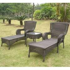 Doubleday 3 Piece Chaise Lounge Set