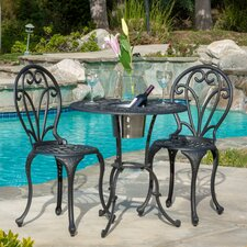 Doe 3 Piece Bistro Set With Ice Bucket