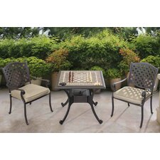 Harrietta Gaming 3 Piece Bistro Set
