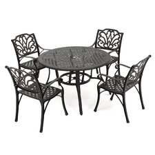 Loughguile 5 Piece Outdoor Dining Set
