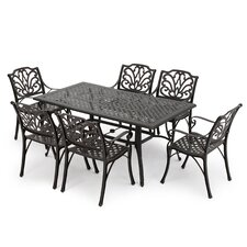 Loughguile 7 Piece Outdoor Dining Set