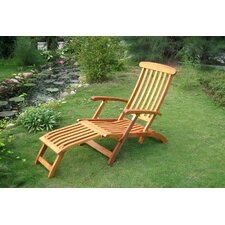 Dracaena Balau Patio Steamer Lounge Chair