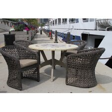 Ivy 5 Piece Dining Set