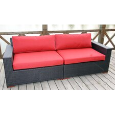 Scholtz Deep Seating Sofa with Cushions