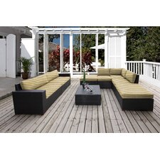 Scholtz 8 Piece Lounge Seating Group with Cushion