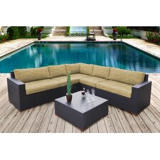 Scholtz 6 Piece Lounge Seating Group with Cushion