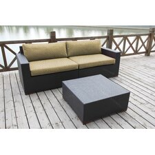 Best  Scholtz 2 Piece Deep Seating Group with Cushion