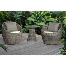 Carsten 3 Piece Deep Seating Group with Cushion