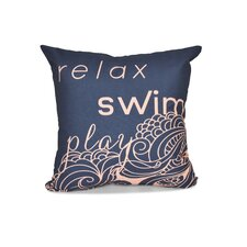 Grand Ridge Word Outdoor Throw Pillow