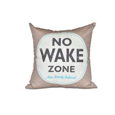 Purchase Golden Beach Nap Zone Word Outdoor Throw Pillow